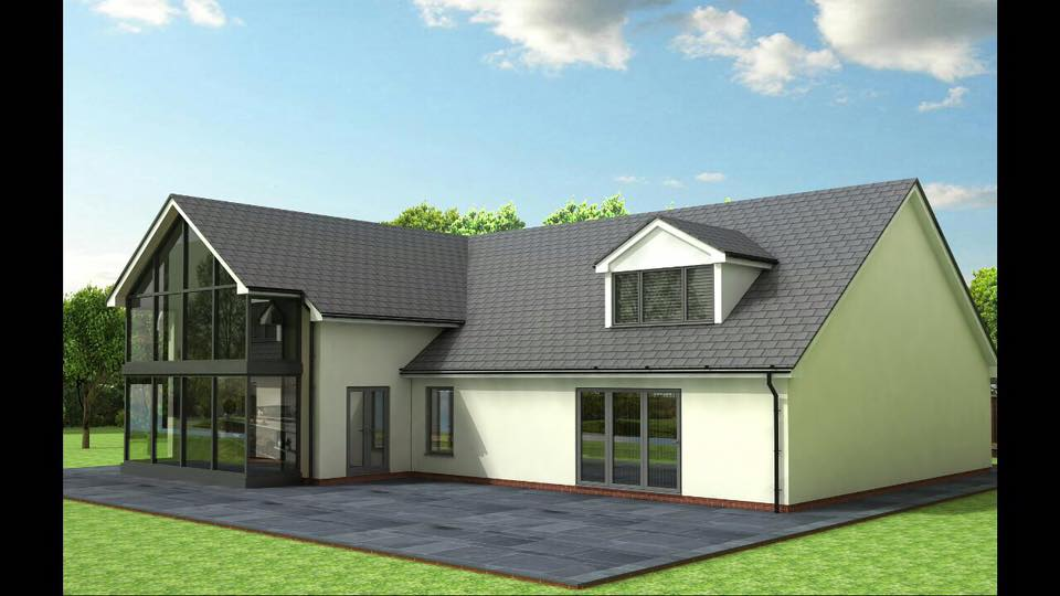 3D drawing complete for one of A.F Architectural Designs' customers. What a beautiful house this will be!