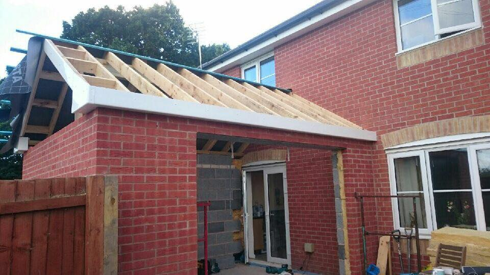 We recently had an email off a client showing the progression with his house extension!