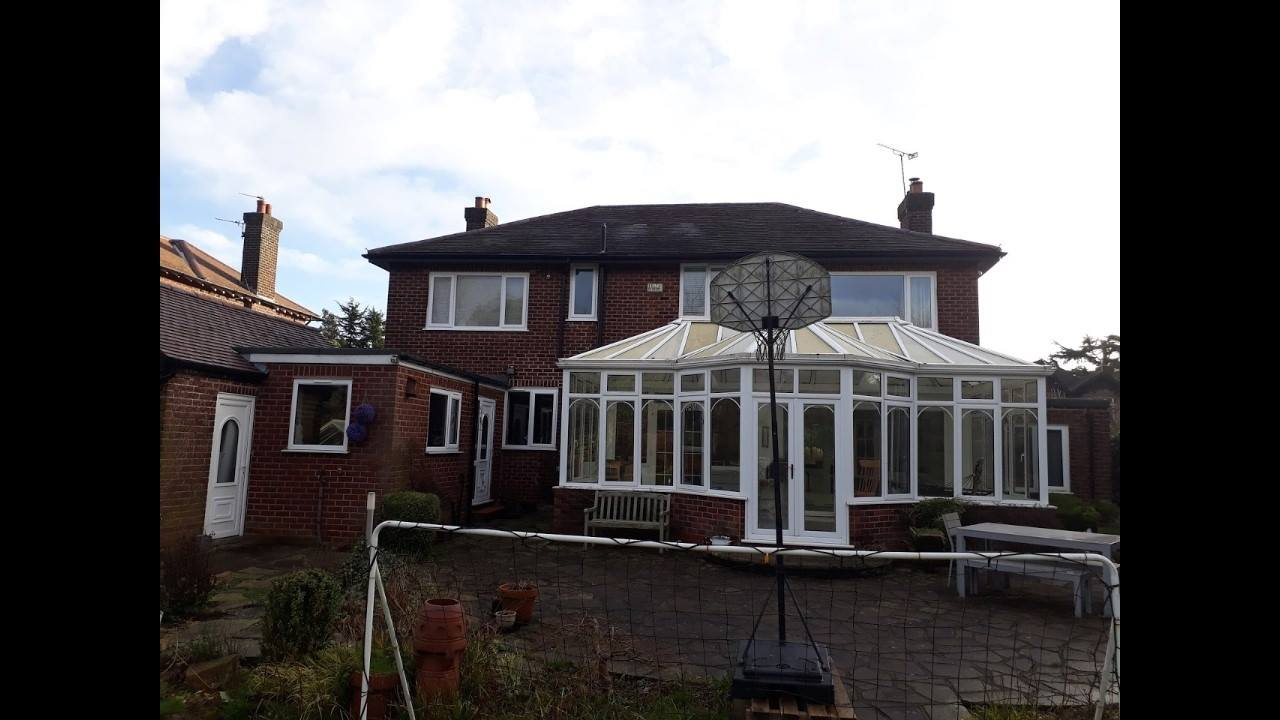 Another extension nearing completion in Bramhall, Stockport